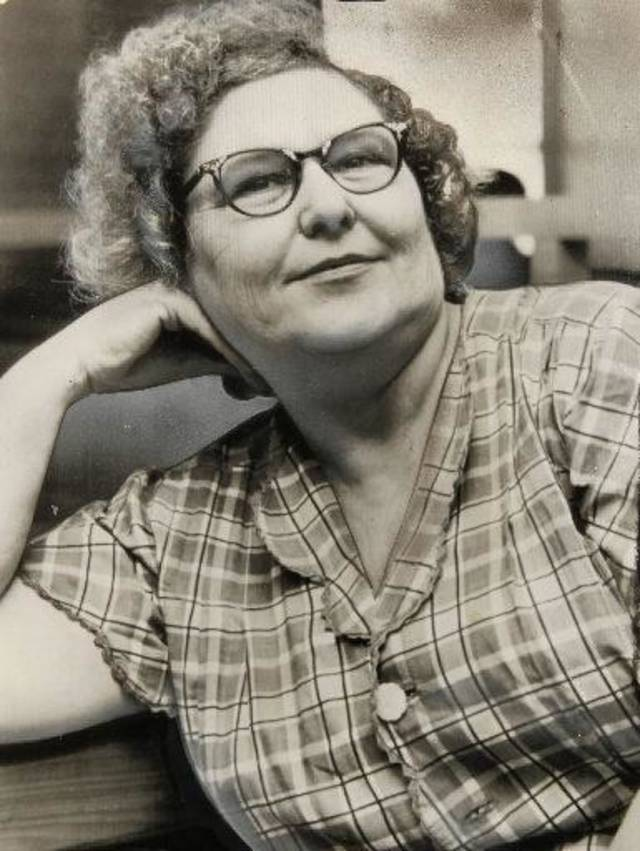 Nannie Doss was sentenced to life in prison in 1955 for the arsenic death of her fifth husband, Samuel Doss. Oklahoman Archives photo
