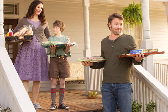 "From left, Jennifer Garner, CJ Adams and Joel Edgerton star in the Disney family feature ""The Odd Life of Timothy Green."" Photo provided"