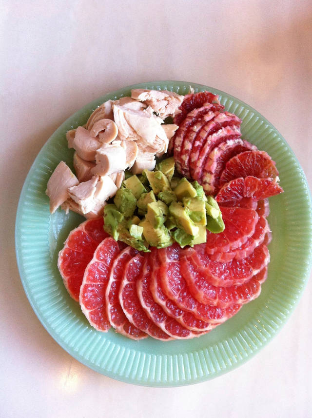 This salad is the perfect way to enjoy seasonal Ruby Red grapefruit. <strong>SHERREL JONES - THE OKLAHOMAN</strong>