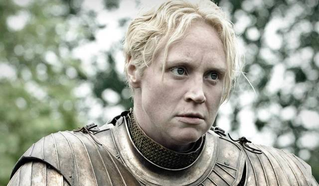 The maiden Brienne of Tarth.