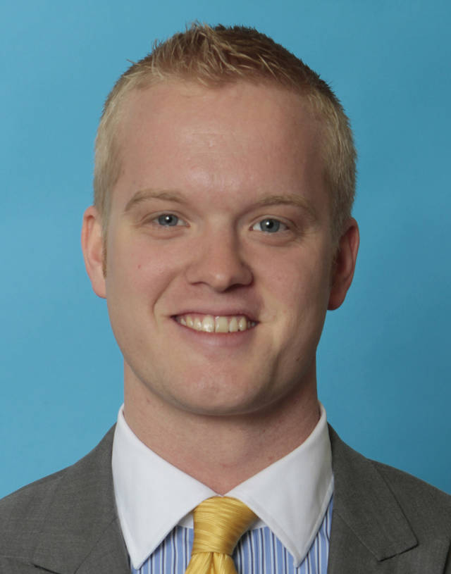 Josh Cockroft <strong>David McDaniel - The Oklahoman</strong>