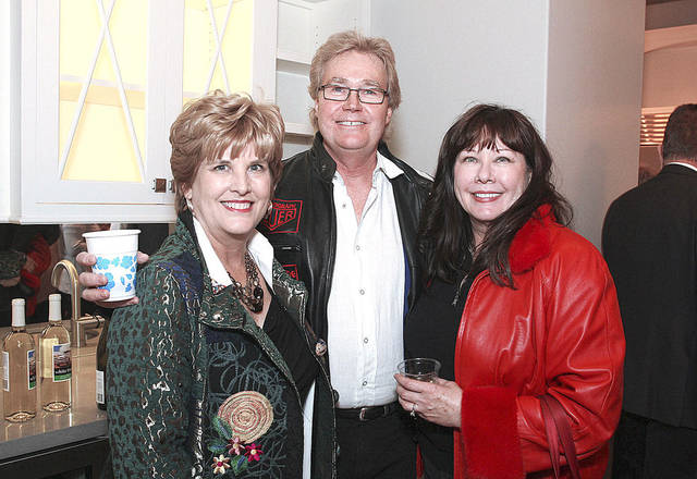 Teresa Pope, Ken Wells, Carolyn Bullard.  PHOTOS BY DAVID FAYTINGER, FOR THE OKLAHOMAN