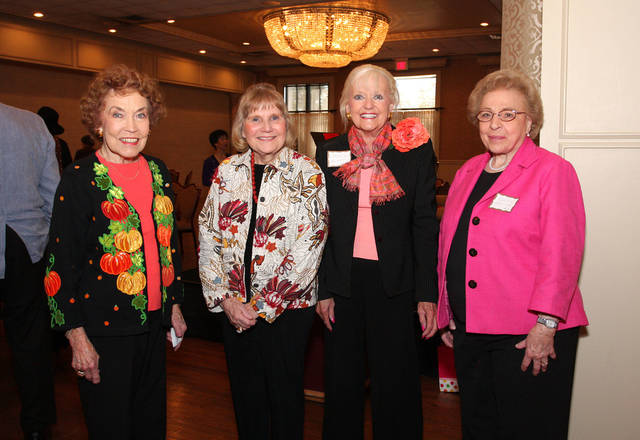 Freida Dailey, Ezell Potter, Shelly Fleet, Ellen Worden. Photo by David Faytinger