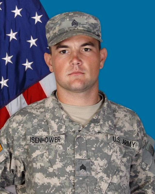 Sgt. Bret D. Isenhower, 26, of Lamar, died Friday in an attack in Afghanistan. <strong></strong>