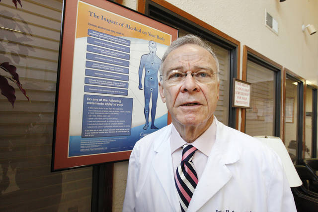 Dr. Billy Stout, medical director of The Referral Center, is shown Friday at the center in Oklahoma City.  Photo by Paul B. Southerland, The Oklahoman