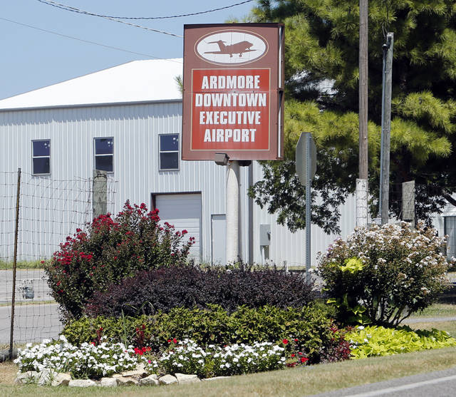 This airport with amenities, and a longer runway is five miles north of the Lake Murray State Park Airport on Thursday, July 19, 2012 in Ardmore, Okla.  Photo by Steve Sisney, The Oklahoman