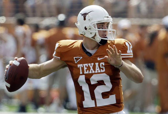 Texas is staying in the Big 12 because the conference does not share revenue equally among all schools. AP PHOTO