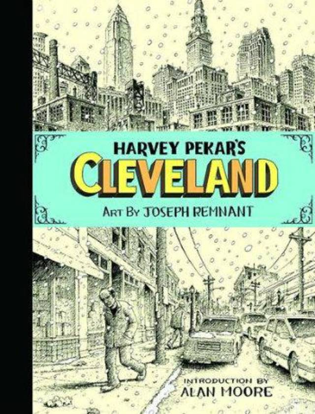 """Harvey Pekar's Cleveland."" Top Shelf. <strong></strong>"