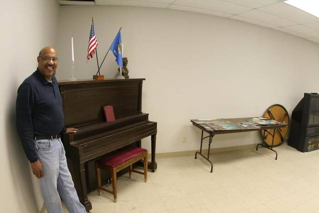 Harold Irby has managed the senior citizen center in Chickasha for many years. (Chickasha Express-Star Photo)