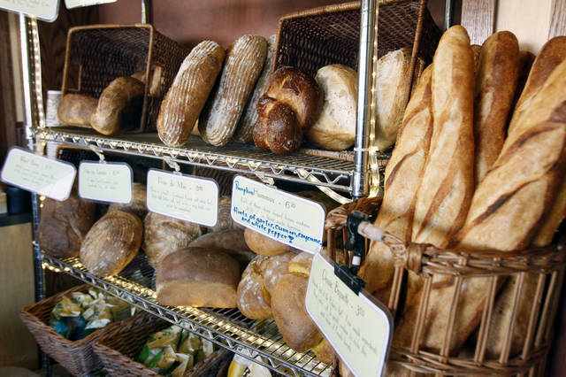 These are some of the breads available at the Prairie Thunder Baking Co. in Oklahoma City. Photo By Paul Hellstern, The Oklahoman <strong>PAUL HELLSTERN - Oklahoman</strong>