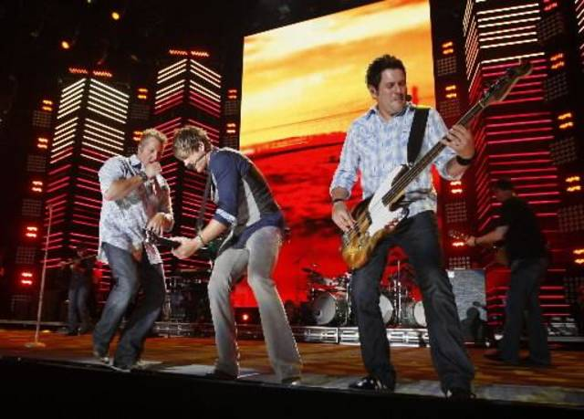 Rascal  Flatts performs during the CMA Music Festival June 12 in Nashville, Tenn. The band launches its new tour, which includes a date at Tulsa's BOK Center, on Friday. (Associated Press file photo)