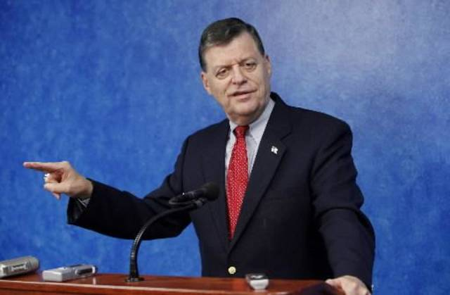 2010 file photo of Rep. Tom Cole by Paul B. Southerland