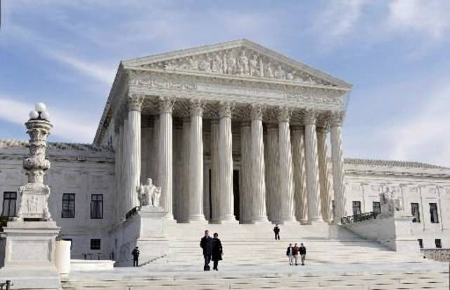 This Jan. 25, 2012 file photo shows the Supreme Court Building in Washington. AP Photo