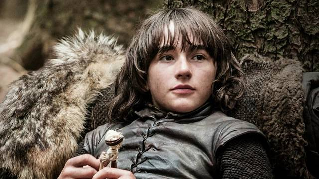 Bran Stark, the guy who rides on Hodor's back.