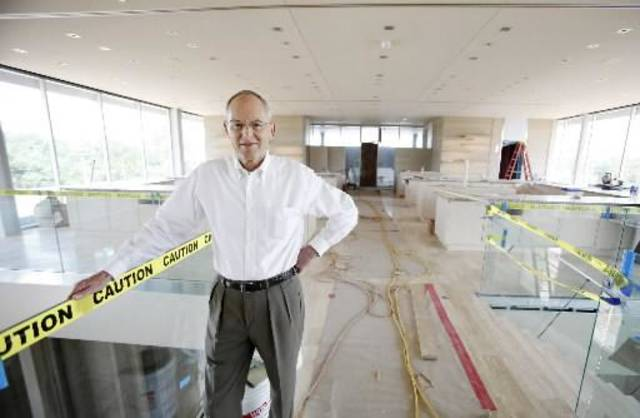 The new Balliets store on Classen Curve opens Aug. 12 On July 16, owner Bob Benham stood in the uncompleted cosmetics area.