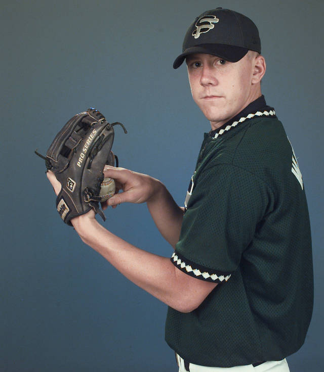 Brandon Weeden was drafted by the Yankees in 2002. Photo by The Oklahoman Archive