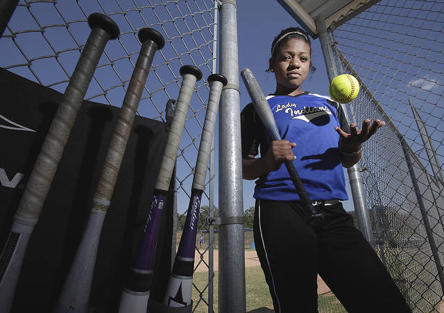 Little Axe softball player Lacey Williams batted .509 with seven home runs and 10 doubles in her senior season. She plans to play college softball at East Central. Photo by Steve Sisney, The Oklahoman