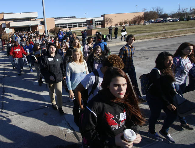 Norman students join walkout, anti-bullying rally