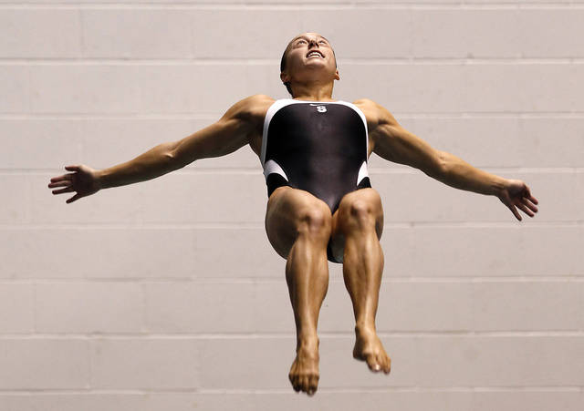 Cassidy Krug won the women's 3-meter springboard at the U.S. Olympic diving trials. AP photo