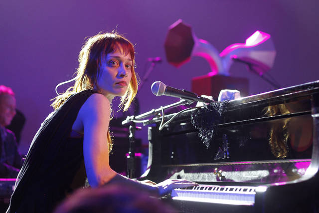 Fiona Apple performs March 14 during the SXSW Music Festival in Austin, Texas. AP file photo