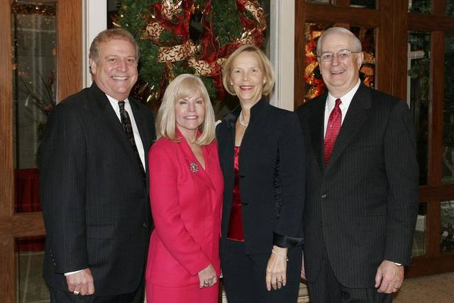Hosts Hershel Lamirand, Ann Ackerman, Martie Ferretti and Dr. Joe Ferretti pause for a picture. BY DAVID FAYTINGER,