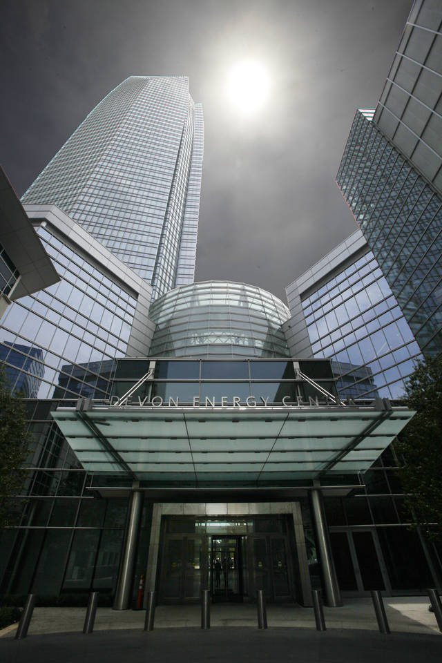 Devon Tower in Oklahoma City, Tuesday, June 12, 2012. Photo By Steve Gooch, The Oklahoman