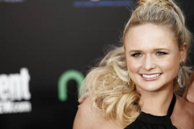 "Tishomingo resident Miranda Lambert arrives at the world premiere of ""The Hunger Games"" on Monday March 12, 2012 in Los Angeles. (AP Photo)"