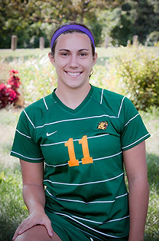 FILE - Northern Michigan University freshman Arianna Alioto is seen in an undated file photo provided by Northern Michigan University. Accidental drowning was the cause of death of Alioto, a Northern Michigan University soccer player who was found unresponsive in a campus pool in Marquette, Mich., on Nov. 30, 2012, according to an autopsy finding released by the school Friday, Jan. 18, 2013. Alioto, 18, was found alone in the Physical Education Instructional Facility pool after a team workout.  (AP Photo/Northern Michigan University, File)