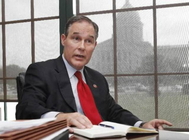 Oklahoma Attorney General Scott Pruitt -- File photo
