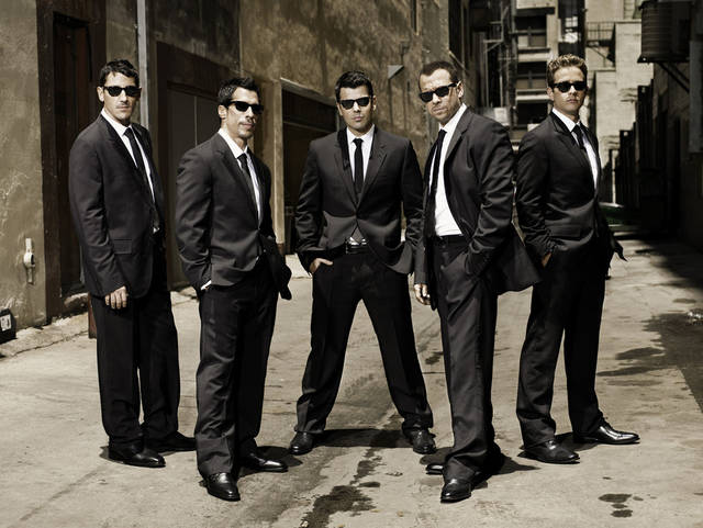 New Kids on the Block, Jonathan Knight, Danny Wood, Jordan Knight, Donnie Wahlberg and Joey McIntyre. - PHOTO PROVIDED <strong>PHOTO PROVIDED</strong>