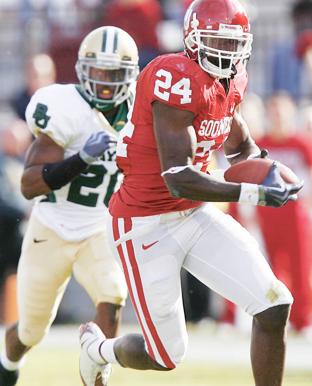 OU receiver Dejuan Miller had six catches for 84 yards in the Sooners' Sun Bowl win. Miller hopes to use that game as a springboard to 2010.  PHOTO BY CHRIS LANDSBERGER, THE OKLAHOMAN