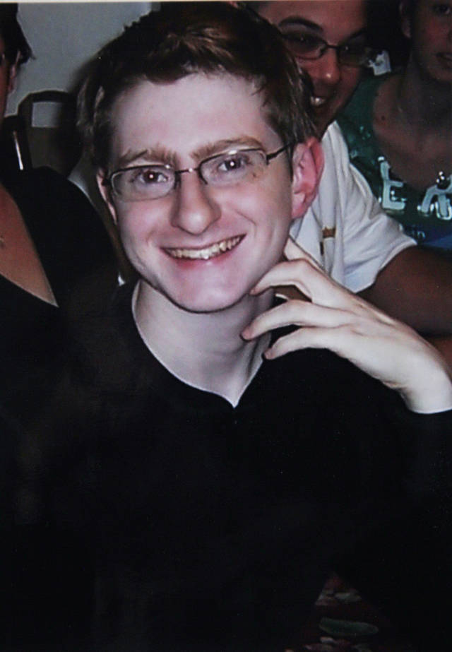 FILE - This undated file photo provided by Joseph and Jane Clementi shows their son Tyler Clementi at a family function. Clementi committed suicide days after he and a companion appeared in the live video that fellow Rutgers University student Dharun Ravi briefly streamed. Ravi, who was convicted of bias intimidation, invasion of privacy and other crimes, is due to be released from jail Tuesday, June 19, 2012, after serving 20 days of a 30 day sentence. (AP Photo/Clementi Family, File)