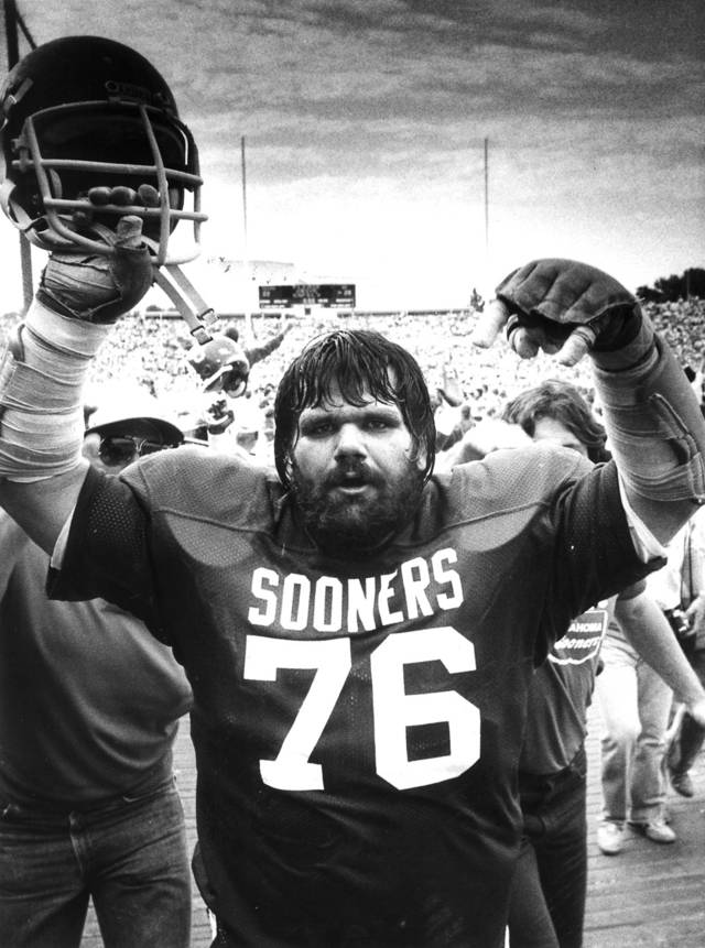 Steve 'Dr. Death' Williams was a football and wrestling star at OU. Photo by The Oklahoman Archive