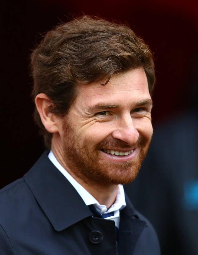 Tottenham Hotspurs' manager Andre Villas-Boas, look's on ahead of their English Premier League soccer match against Sunderland at the Stadium of Light, Sunderland, England, Saturday, Dec. 29, 2012. (AP Photo/Scott Heppell)