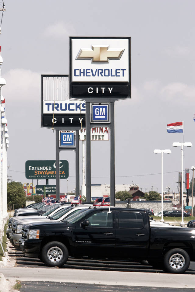 City Chevrolet, 5000 W Reno Ave., will close Dec. 31 after 30 years in business. Photo by Steve Gooch, The Oklahoman