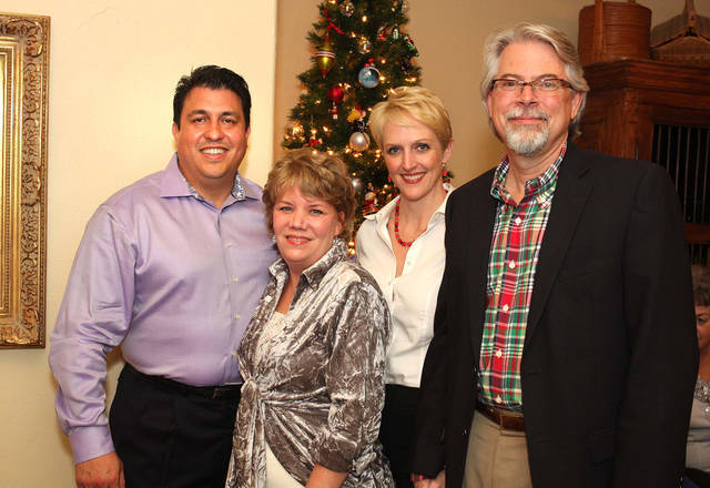 Ricardo Vega, Beth Kerr, Holly and Steve Kreidler. PHOTO BY DAVID FAYTINGER, FOR THE OKLAHOMAN <strong></strong>