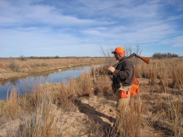 Oklahoma trying to open up private land for hunting and for Kansas fish and wildlife