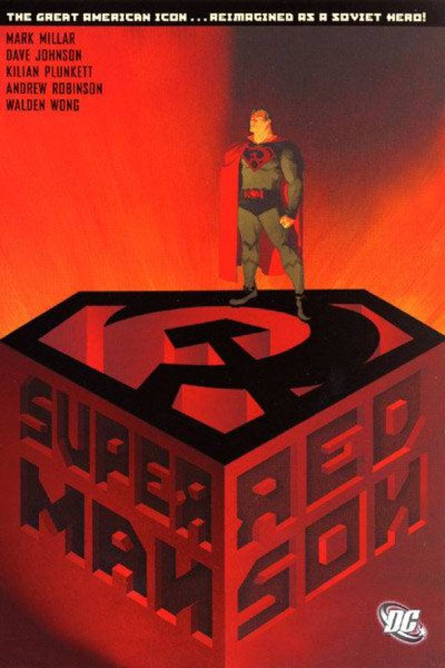 Dave Johnson, artist of �Superman: Red Son� will appear in Oklahoma City on Saturday. DC COMICS
