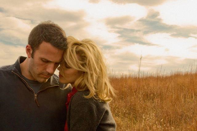 "Ben Affleck and Rachel McAdams in Terrence Malick's ""To the Wonder"""