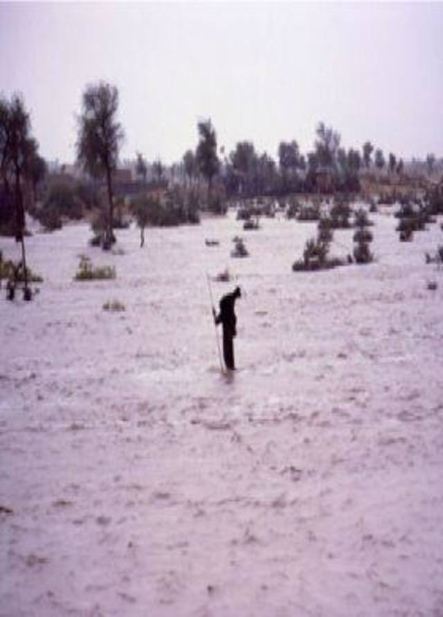 Floods in oman