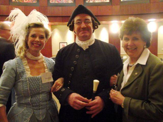 Patti Mellow, Emily Stratton, Richard Schumann enjoyed the events. (Photo by Dayne Rowe).
