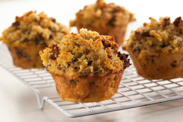 Make your dressing into muffins to add a twist to your Thanksgiving feast. <strong> - PROVIDED</strong>