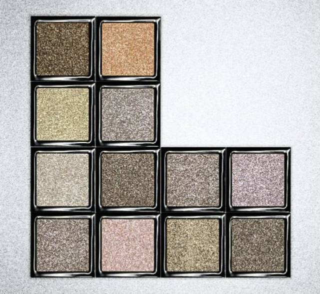 Bobbi Brown's new Sparkle eye shadow collection