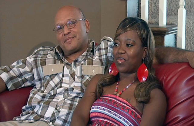 In this image taken from video and provided by WLBT TV, Charles and Te'Andrea Wilson are shown in their home in Crystal Springs, Miss.AP Photo/WLBT TV <strong></strong>