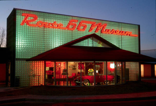The Oklahoma Route 66 Museum in Clinton will reopen in May after renovations. PHOTO PROVIDED