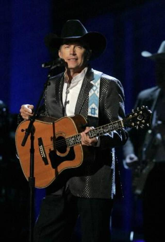 George Strait (Associated Press file photo)