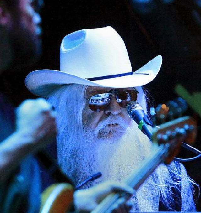 Famed Oklahoma-born singer/songwriter/pianist Leon Russell performs on the Jaegermeister stage at the 2010 Norman Music Festival. The 2011 festival will expand to three days and take place April 21-23 in downtown Norman. Photo by Jim Beckel, The Oklahoman Archives. <strong>JIM BECKEL</strong>