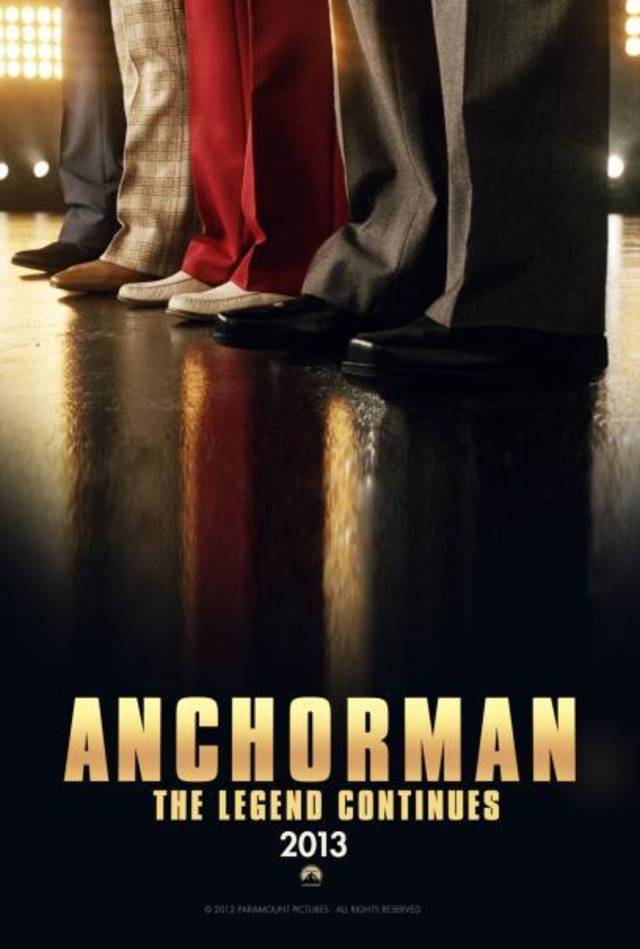 &quot;Anchorman: The Legend Continues.&quot; &lt;strong&gt;&lt;/strong&gt;