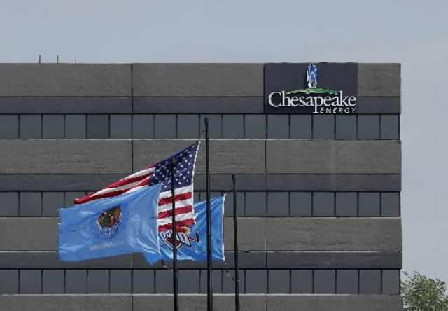 One of Chesapeake&#039;s accounting buildings along Interstate 44. Chesapeake Energy campus and properties Wednesday, May 2, 2012. Photo by Doug Hoke