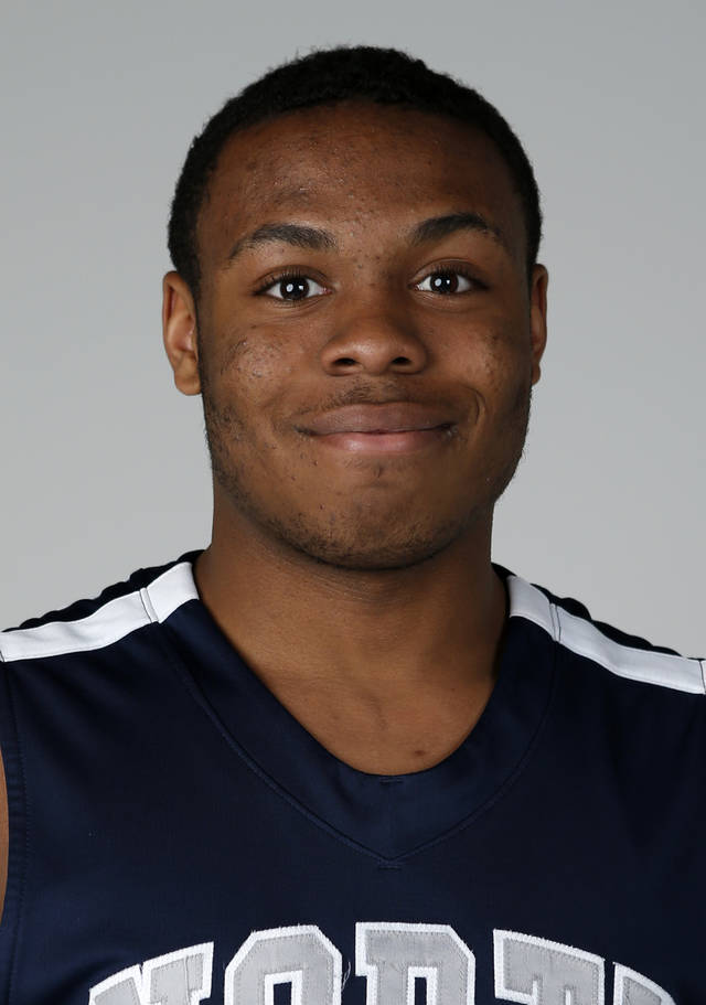 ALL CITY / ALL-STATE BASKETBALL / HIGH SCHOOL BASKETBALL: Edmond North basketball player Carlbe Ervin poses for a photo in Oklahoma City, Thursday, April 5, 2013. Photo by Bryan Terry, The Oklahoman
